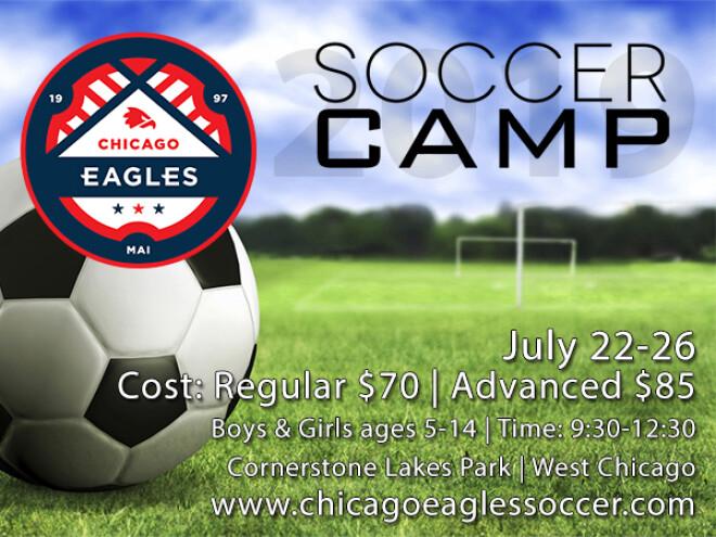 Chicago Eagles Soccer Camp