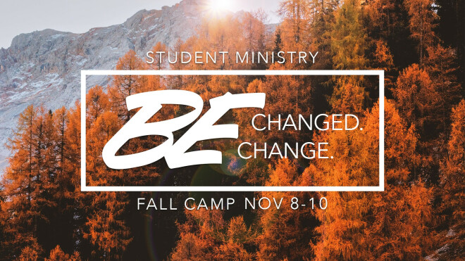 Student Ministries Fall Camp 2019