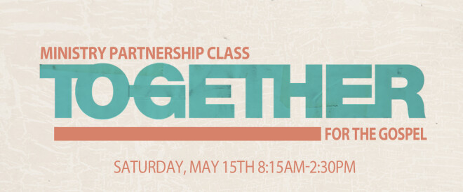 Together for the Gospel (T4G): Ministry Partnership